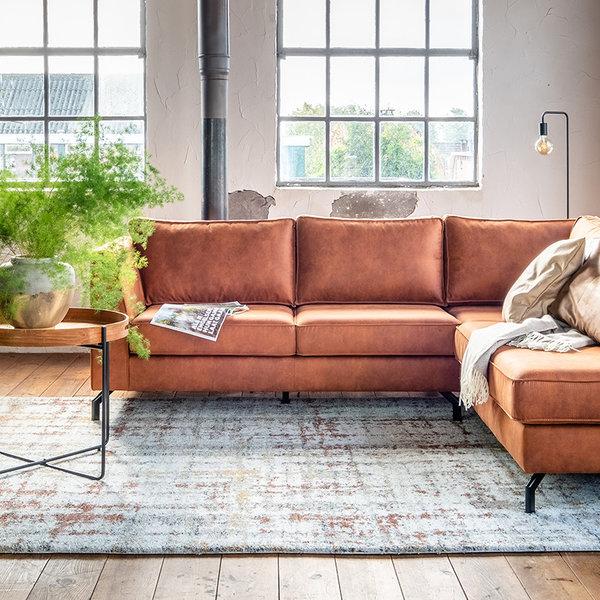 Hoogpolig vloerkleed - Rusty Multicolor