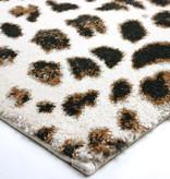 FLOOR Modern vloerkleed - Panter Creme Bruin