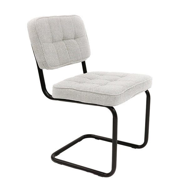 Buisframe stoel - Yves wit