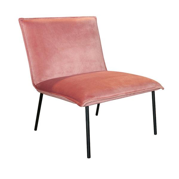 Velvet  Fauteuil - Lola roze