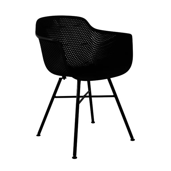 Kick Collection Buitenstoel - Indy Zwart