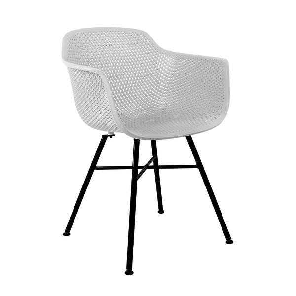 Buitenstoel - Indy Zwart/Wit