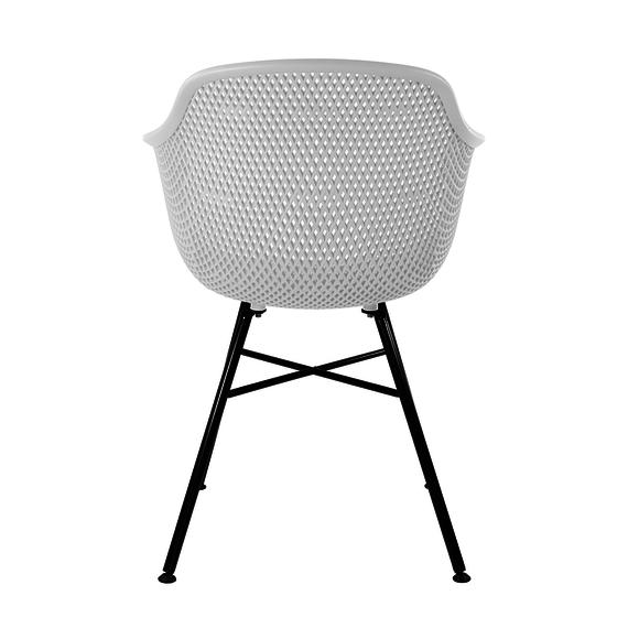 Kick Collection Buitenstoel - Indy Zwart/Wit