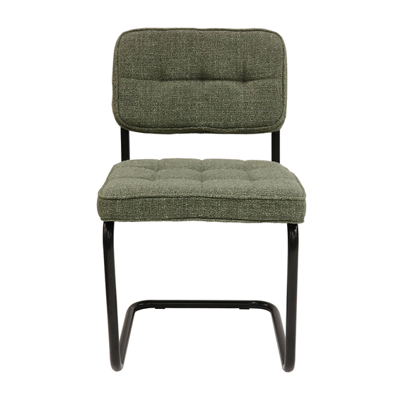 Kick Collection Buisframe stoel - Yves groen