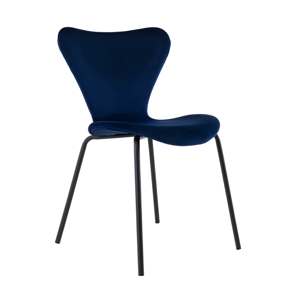 Vlinderstoel Femm - Donkerblauw