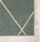 FRAAI Scandinavisch buitenkleed – Odin Lines Groen