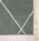 FRAAI Scandinavisch vloerkleed – Odin Lines Groen