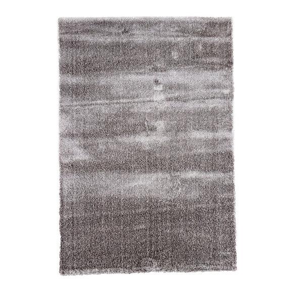FRAAI Hoogpolig vloerkleed - Glazy licht grijs