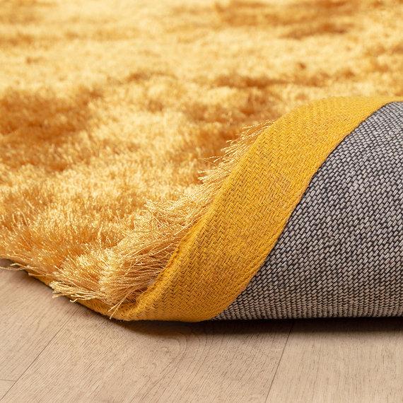 FRAAI Hoogpolig vloerkleed - Glorious Goud / Geel