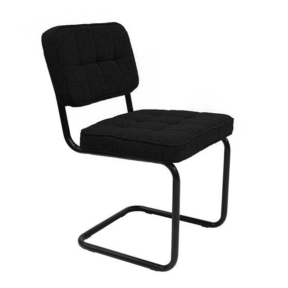 Kick Collection Buisframe stoel - Yves zwart