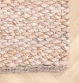 FRAAI Wollen vloerkleed - Brilliant Beige / Zand