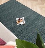 FRAAI Wollen vloerkleed - Brilliant Blauw / Groen