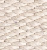 FRAAI Wollen vloerkleed - Brilliant Creme / Wit