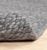 FRAAI Wollen vloerkleed - Brilliant Donkergrijs