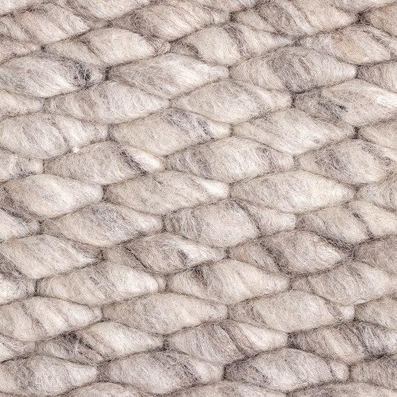 FRAAI Wollen vloerkleed - Brilliant Lichtgrijs