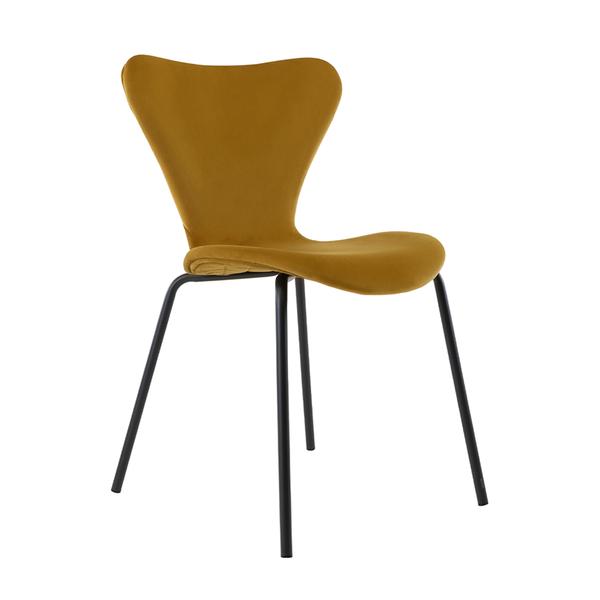 Vlinderstoel Femm - Geel