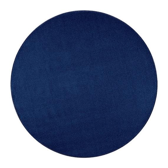 Hanse Home Rond Effen vloerkleed - Penny Blauw