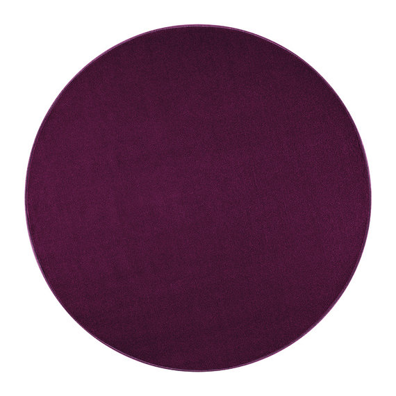 Hanse Home Rond Effen vloerkleed - Penny Violet Paars