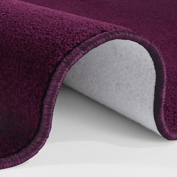 Hanse Home Effen vloerkleed - Penny Violet Paars