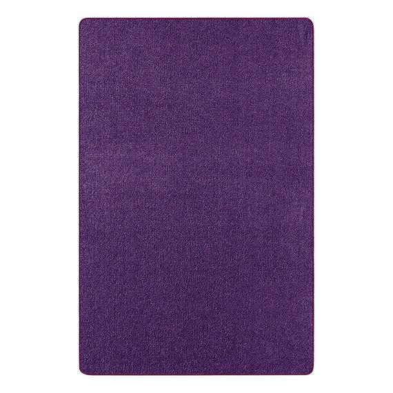 Hanse Home Vierkant Effen vloerkleed - Penny Violet Paars
