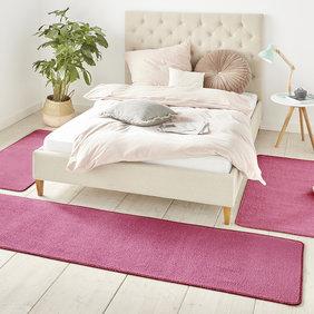 Hanse Home Slaapkamer vloerkledenset - Penny Roze