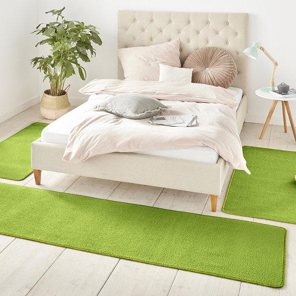 Slaapkamer vloerkledenset - Penny Groen