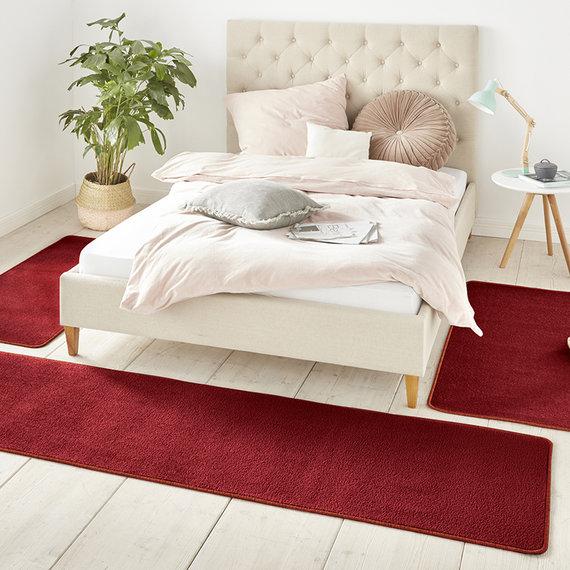 Hanse Home Slaapkamer vloerkledenset - Penny Rood