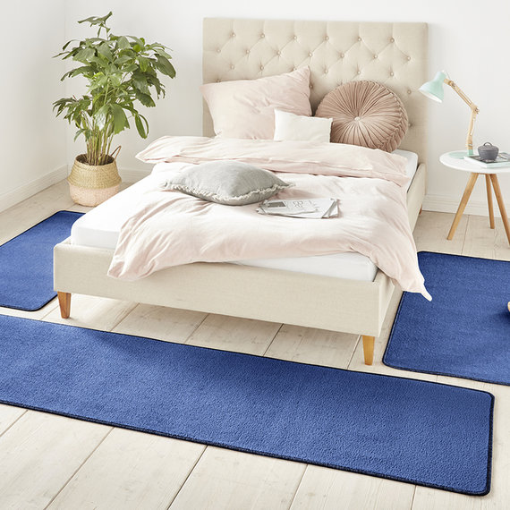 Hanse Home Slaapkamer vloerkledenset - Penny Blauw