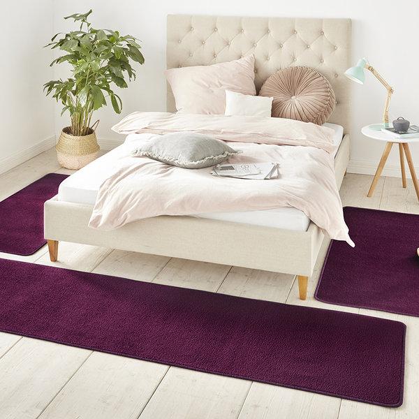 Slaapkamer vloerkledenset - Penny Violet Paars