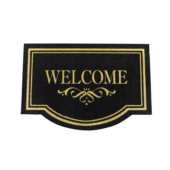 Hanse Home Design deurmat - Lucky Welcome Bruin Zwart