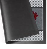 Hanse Home Design deurmat - Lucky Hert Grijs Rood