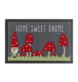 Hanse Home Design deurmat - Lucky Home Kabouter Rood Grijs