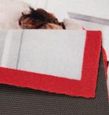 Hanse Home Design deurmat - Lucky Kersthond Wit