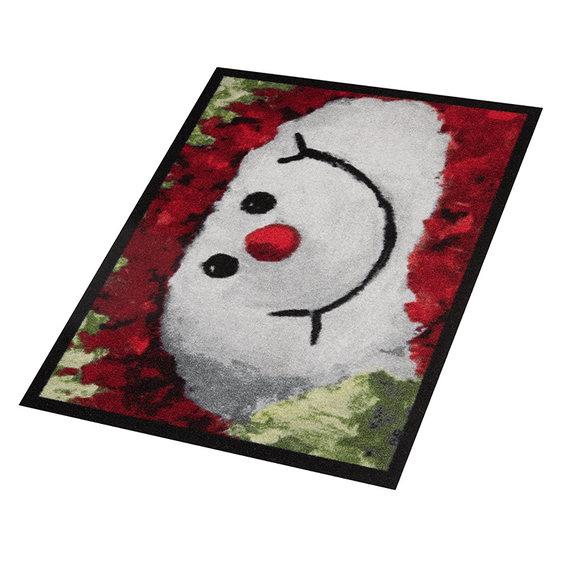 Hanse Home Design deurmat - Lucky Sneeuwpop Rood Wit