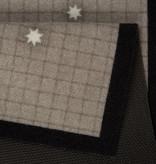 Hanse Home Design deurmat - Lucky Kersthert Grijs Bruin