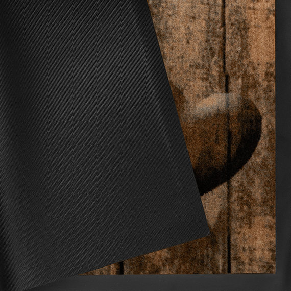 Hanse Home Design deurmat - Lucky Hart Bruin