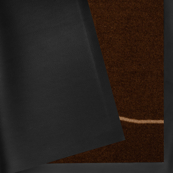 Hanse Home Design deurmat - Lucky Welcome Donkerbruin Beige