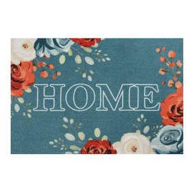Hanse Home Design deurmat - Lucky Home Turquoise