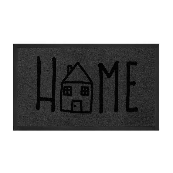 Hanse Home Design deurmat - Lucky Home Grijs Antraciet