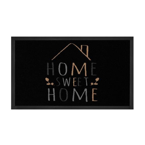 Hanse Home Design deurmat - Lucky Home Zwart Creme
