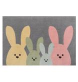 Hanse Home Design deurmat - Lucky Bunny Multicolor