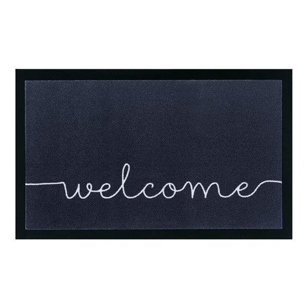 Design deurmat - Lucky Welcome Antraciet