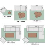 Hanse Home Laagpolige vloerkleed - Pure Antraciet