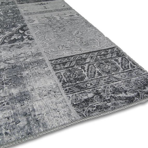 Brinker carpets Patchwork Vloerkleed - Bukan  Light Grey