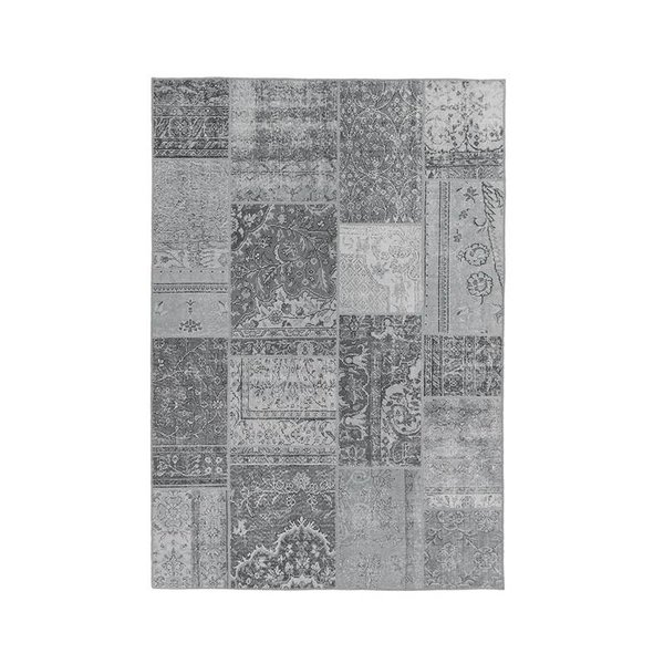 Patchwork Vloerkleed - Bukan  Light Grey
