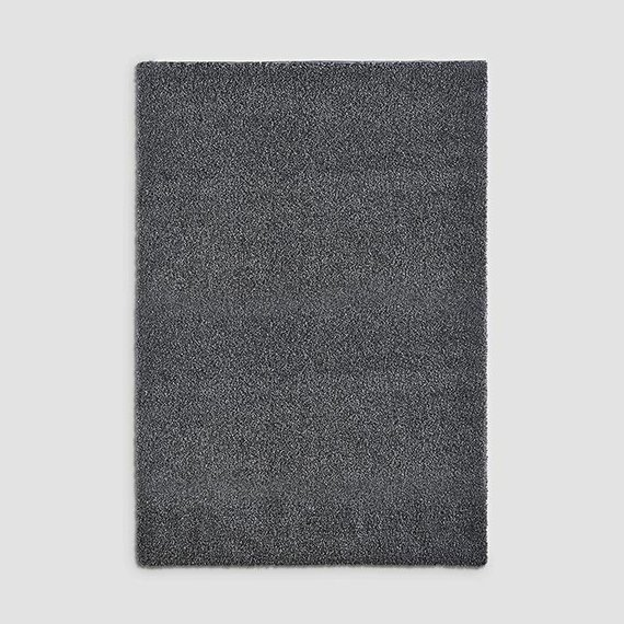 Hoogpolig vloerkleed - Shaggy Silver