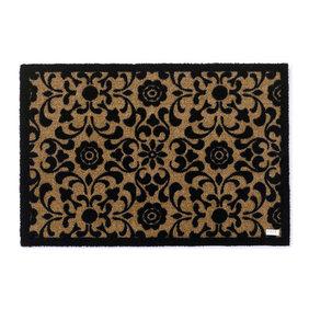 Zala living Design deurmat - Deko Ornament Bruin