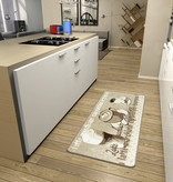Hanse Home Keukenloper - Kitchen Latte Macchiato Beige Creme