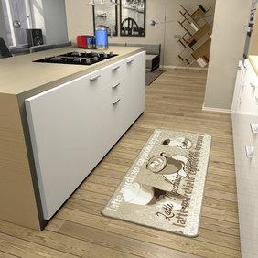 Hanse Home Wasbare keukenloper - Kitchen Latte Macchiato Beige Creme