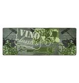 Hanse Home Wasbare keukenloper - Kitchen Vino Groen Grijs